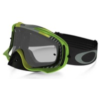 Oakley Crowbar MX Goggles - Bio Hazard Green/Clear