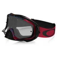Oakley Crowbar MX Goggles - Tagline Red-Blue/Clear