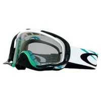 Oakley Crowbar MX Goggles - Razorwire Blue-Green/Clear