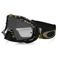 Oakley Crowbar MX Goggles - Mosh Pit Gold/Clear