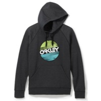 Oakley Circle Factory Fleece Hoodie - Jet Black