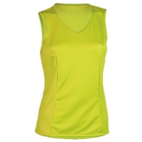 Shebeest Easy V Solid Sleeveless Jersey - Appletini