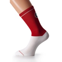 Assos YankeeSock_G1 - Red Swiss