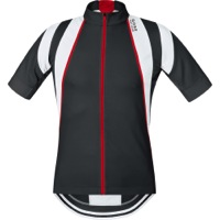 Gore Oxygen Jersey 2015 - Black/White/Red