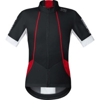 Gore Oxygen Windstopper Soft Shell Jersey - Black/White