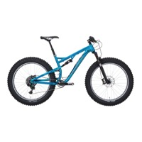 Salsa Bucksaw Alloy XO1 Complete Bike 2016 - Transparent Blue