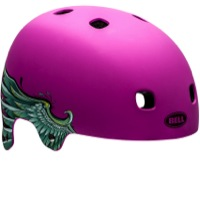Bell Segment Jr. Kids Helmet 2016 - Matte Purple Wings