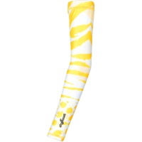 Shebeest Tigress Reversible Arm Warmers - Limoncello