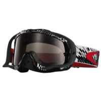 Oakley Crowbar MX Goggles - Podium Check Red/Black