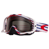 Oakley Crowbar MX Goggles - Nemesis Red/White/Blue/Dark Lens
