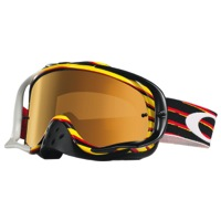 Oakley Crowbar MX Goggles - Nemesis Red/Yellow/Fire Iridium Lens