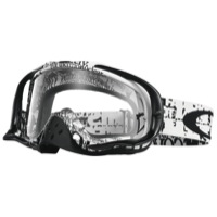 Oakley Crowbar MX Goggles - Tagline Black/White