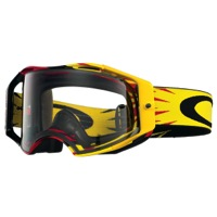 Oakley Airbrake MX Goggles - High Voltage Red/Yellow/Clear Lens