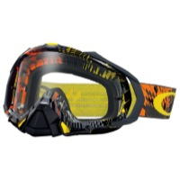 Oakley Mayhem Pro MX Goggles - Podium Check Orange