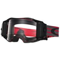 Oakley Airbrake MX Race Ready Roll-Off Goggles - Nemesis Red/Gunmetal
