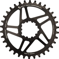 Wolf Tooth Direct Mount Drop-Stop Chainrings - Fits Sram GXP Direct Mount Cranks
