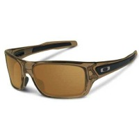 Oakley Turbine Sunglasses - Brown Smoke/Dark Bronze Lens