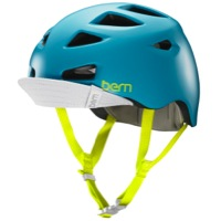 Bern Melrose Helmet 2016 - Satin Teal Blue