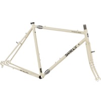 Surly Travelers Check Frameset - Dark Milk
