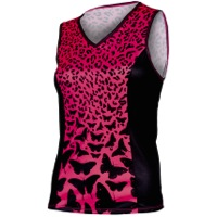 Shebeest Easy V Cheetafly Sleeveless Jersey - Watermelon