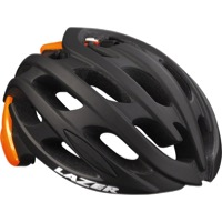 Lazer Blade Helmet - Matte Black/Flash Orange