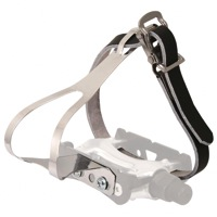 Evo Classic Steel Toe-Clips With Leather straps