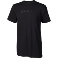 Surly Men's Logo T-Shirt - Black/Black