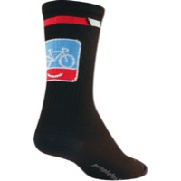 "SockGuy People for Bikes Crew Socks - 6"" Crew Cuff"