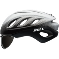Bell Star Pro Shield Helmets 2017 - White/Black Blur