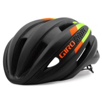 Giro Synthe Helmet 2016 - Matte Black/Lime/Flame