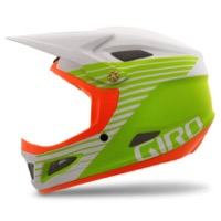 Giro Cipher Helmet 2016 - Matte White/Lime/Flame
