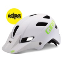 Giro Feature MIPS Helmet 2016 - Matte White/Lime