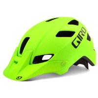 Giro Feature Helmet 2016 - Matte Lime/Mountain Division