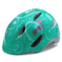 Giro Scamp Youth Helmet 2017 - Turquoise Bubbles