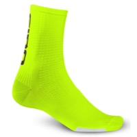 Giro HRc Team Socks 2019 - Highlight Yellow/Black