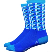 "DeFeet Aireator 6"" Framework Socks - Blue"