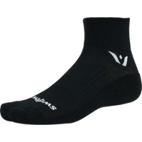 Swiftwick Pursuit Two Socks - Black