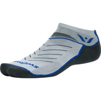 Swiftwick Vibe Zero Socks - Pewter/Olympic Blue/Gray