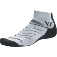 Swiftwick Vibe One Socks - Pewter/Gray