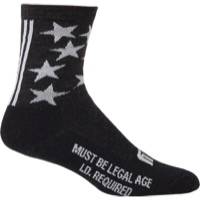 "Surly 1st Ave 5"" Wool Socks - Black"