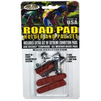 Kool Stop Dura Road Brake Holder and Pad Set