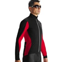 Assos iJ.haBu5 Cycling Jacket - Red Swiss