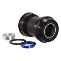 road alloy bottom bracket PF30A-24GXP-R Kogel Bearings PF30A-24 Shim//GXP black