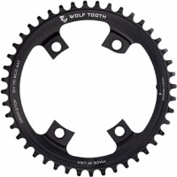 Wolf Tooth Components Shimano Drop-Stop Chainrings - 4 x 110mm Asym BCD