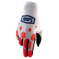 100% Celium Gloves 2017 - Legacy Red