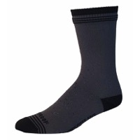 Showers Pass Crosspoint Waterproof Wool Socks - Gray/Black