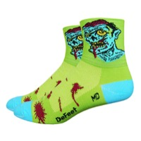 "DeFeet Aireator 3"" Zombie Socks - Green"