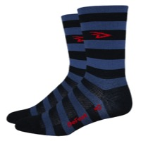 "DeFeet Aireator 5"" Stripers Socks"