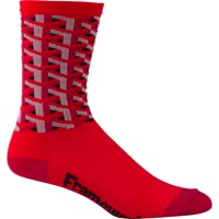 "DeFeet Aireator 6"" Framework Socks - Red"