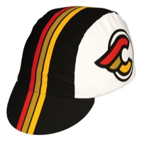 Pace Cinelli Winged Cycling Cap - Black/White
